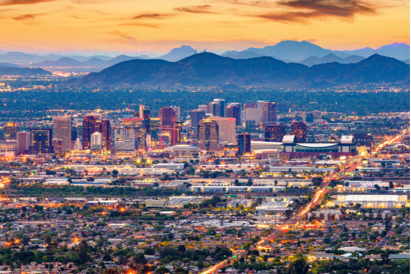 Most Affordable States – Arizona Places Third in Nation